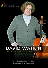 'Unlocking the Bach Cello Suites' with David Watkin