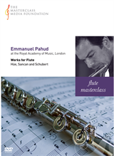 Emmanuel Pahud: Various - Works for Flute by Schubert, Hue and Sancan (MMF-038)