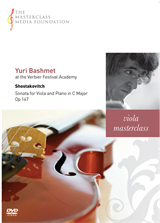 Yuri Bashmet: Shostakovitch - Sonata for Viola and Piano Op 147 (MMF 021)
