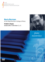 Boris Berman: Chopin - Scherzo No 1 in B minor Op20 (MMF 3-041)