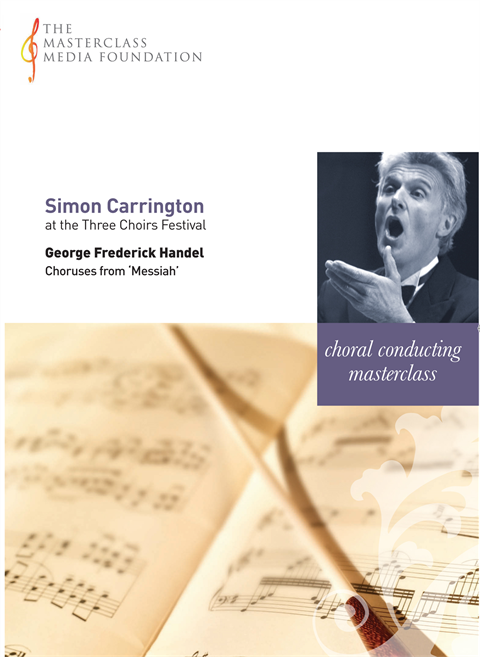 "Simon Carrington: Handel - Choruses from Handel's ""Messiah"" (MMF-035)"
