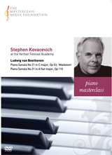 Stephen Kovacevich: Beethoven - Piano Sonatas No 21 Waldstein and No 31, Op 110 (MMF-030)