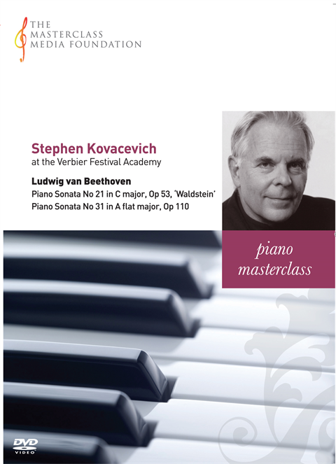 "Stephen Kovacevich: Beethoven - Piano Sonatas No 21 ""Waldstein"" and No 31, Op 110 (MMF-030)"