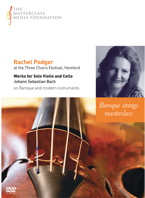 Rachel Podger: Bach - Works for Solo Violin and Cello (MMF 3-043)