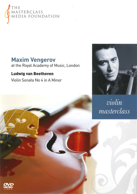 Maxim Vengerov: Beethoven - Sonata for Violin and Piano in A Minor Op 23 (MMF 006)