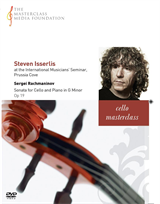 Steven Isserlis: Rachmaninov - Sonata for Cello and Piano in G minor Op 19 (MMF-008)