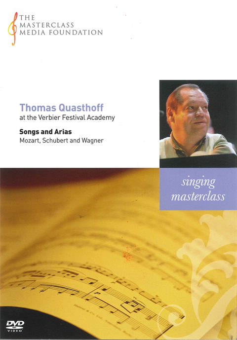 Thomas Quasthoff: Various - Singing Masterclass (MMF 010)