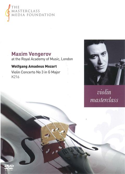 Maxim Vengerov: Mozart - Violin Concerto No 3 in G Major, K216 (MMF-005)