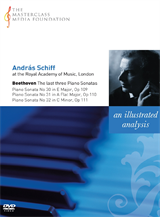 András Schiff: Beethoven - Late Piano Sonatas (MMF 003)