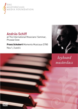 András Schiff: Schubert - Moments Musicaux Nos 1, 3 and 4 (MMF 002)