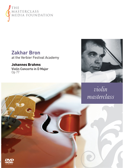 Zakhar Bron: Brahms - Violin Concerto - first two movements (MMF 3-042)